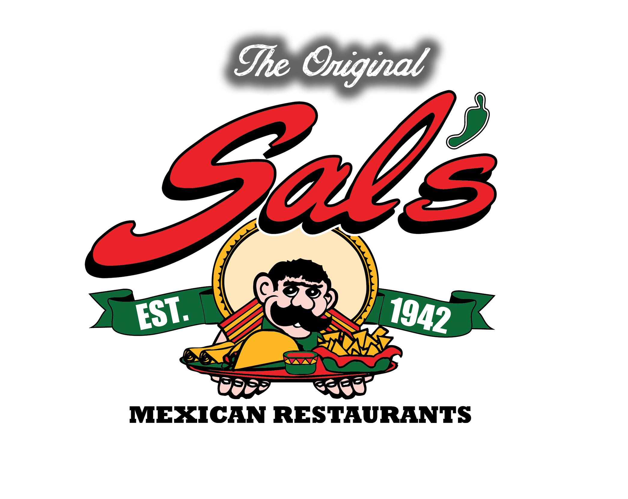 Sals 75th anniversery sals logo sal 39 s mexican restaurants for Mexican logos images