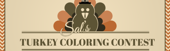 Turkey Coloring Contest