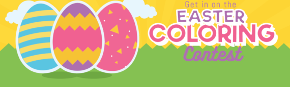 Happy Easter Coloring Contest